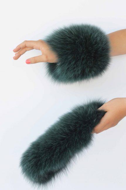 polsi in pelliccia