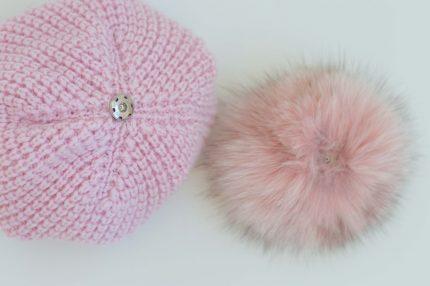 Cappello lana e pelliccia