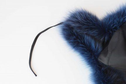 colbacco volpe blu