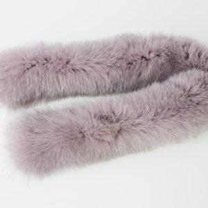 collo di pelliccia di volpe