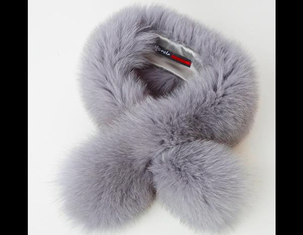 Collo di volpe di Groenlandia colore violetto