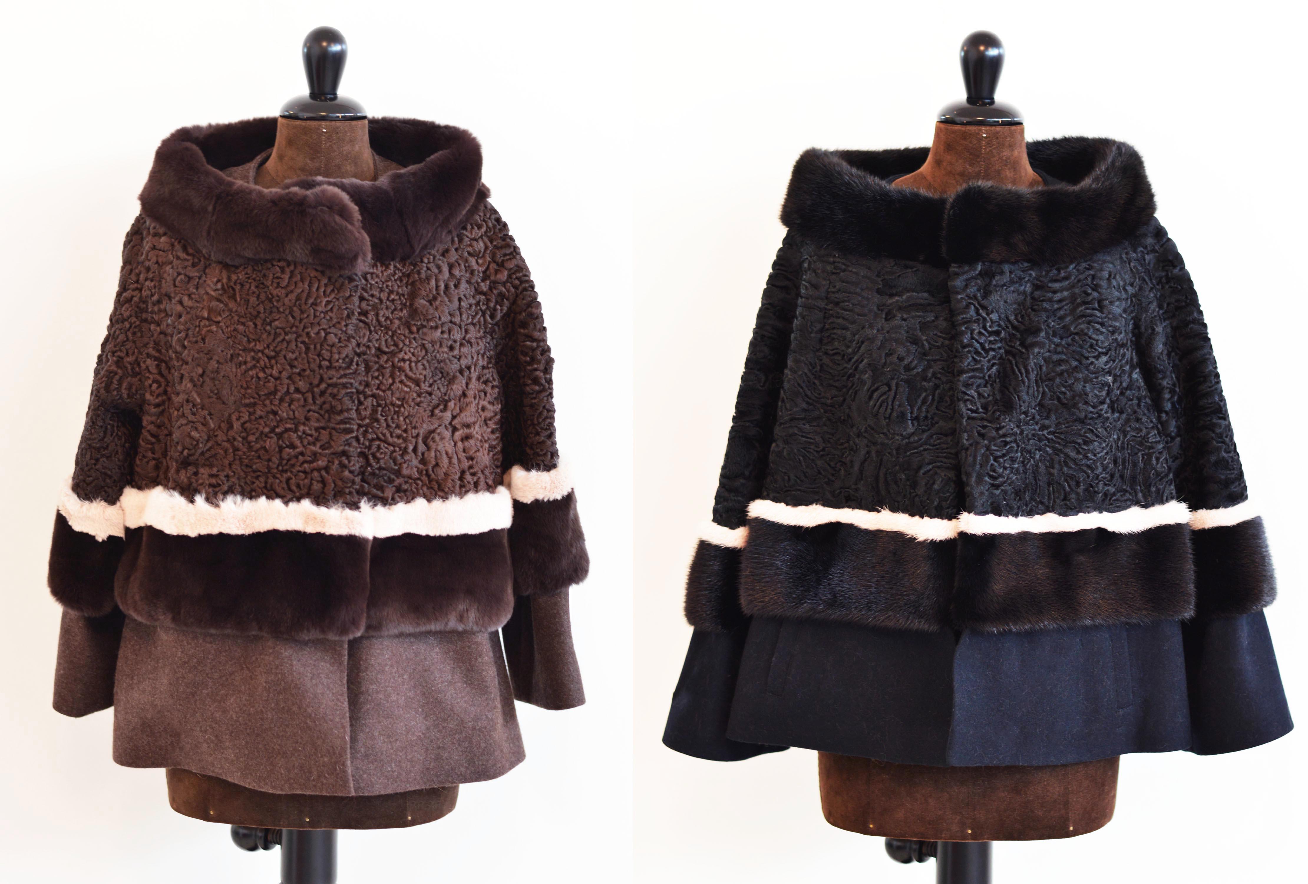 new style 132ea bb49f Come rimodernare una pelliccia di persiano: astrakan e volpe ...