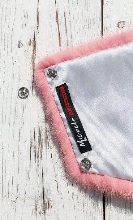 tasca pelliccia visone