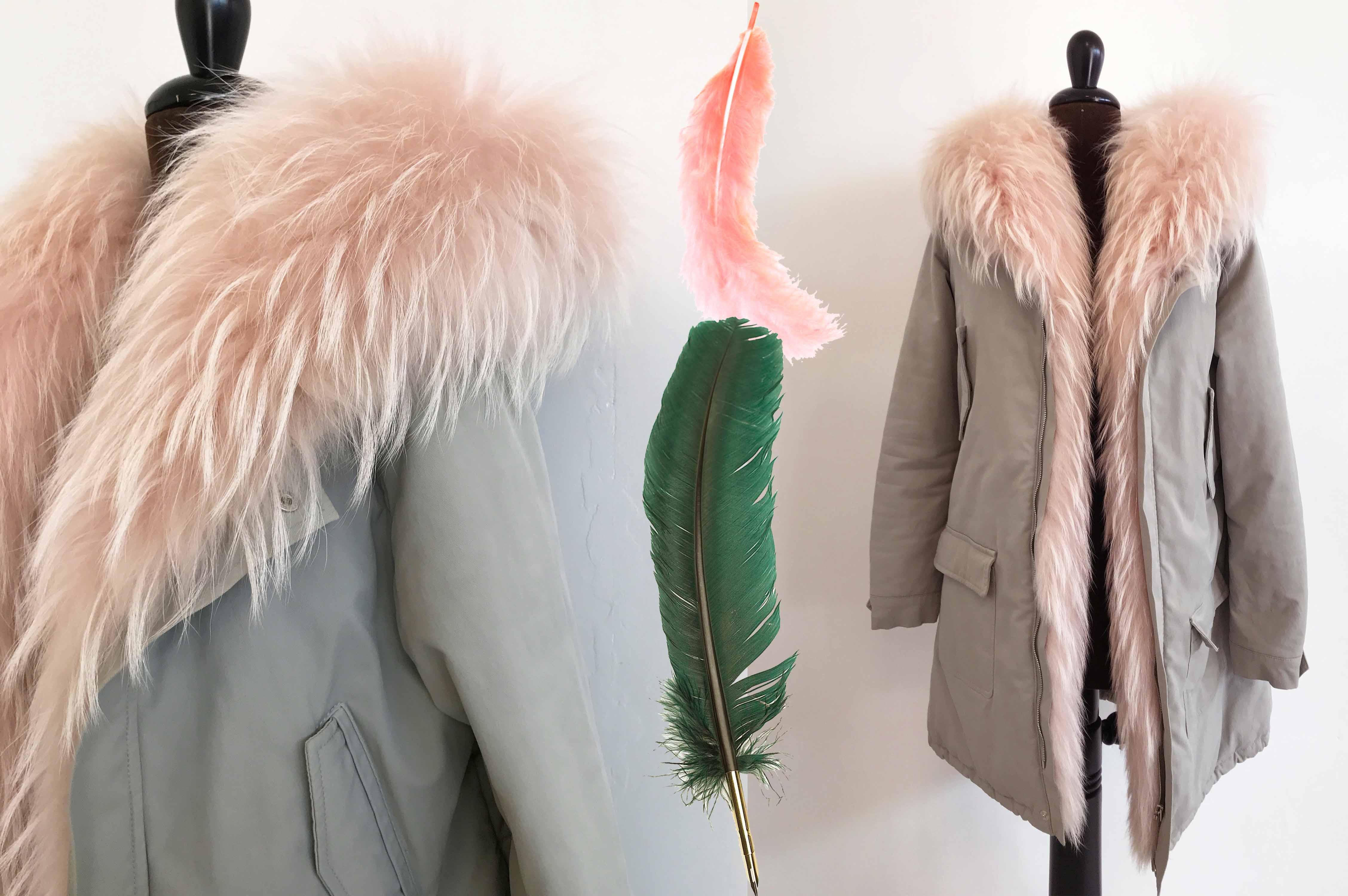 sports shoes c0e17 14762 Parka con pelliccia colorata: giacca chic dall'utilizzo casual
