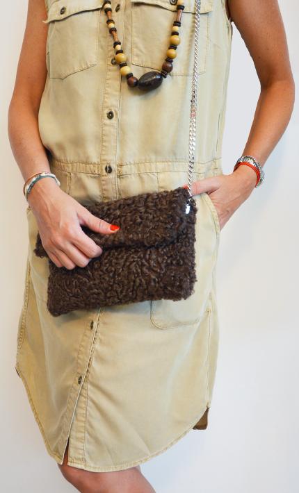 Bag con pelliccia