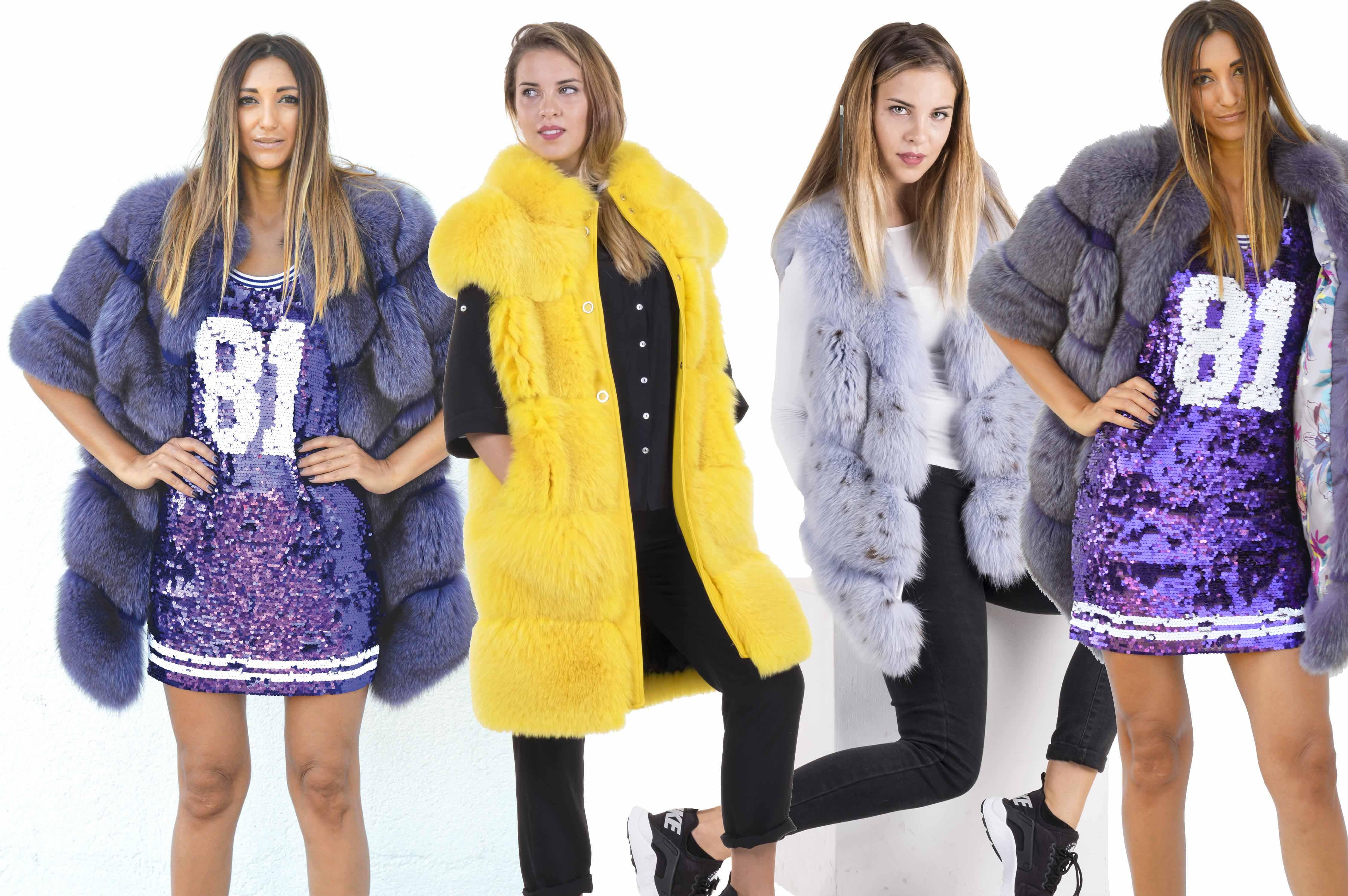 pelliccia di volpe