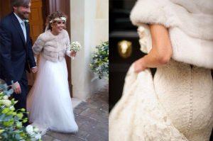 Noleggio pelliccia sposa