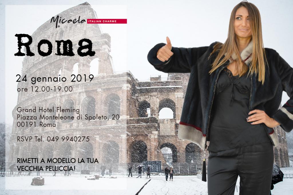 evento pellicce roma