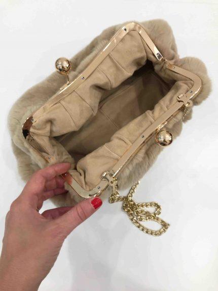 borsa di pelliccia