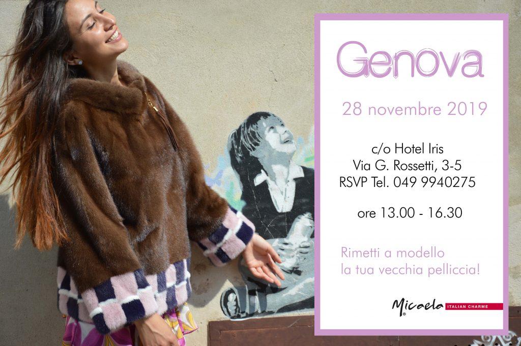 Evento pellicce Genova