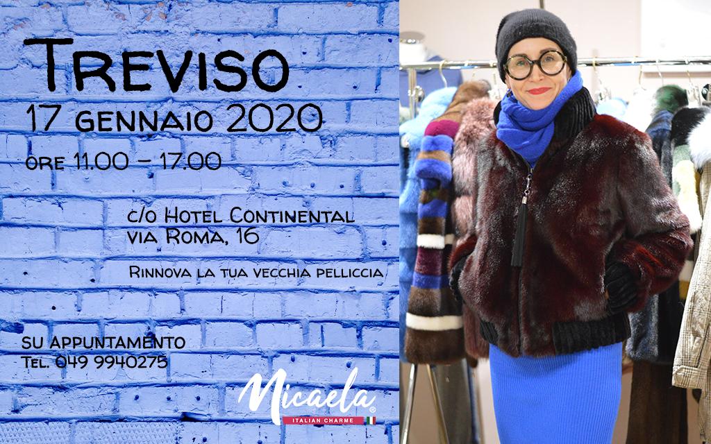 Evento pellicce Treviso