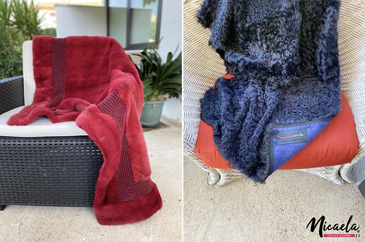 coperta di pelliccia