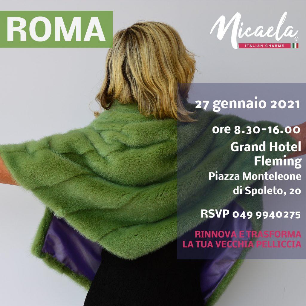 rinnova pelliccia roma